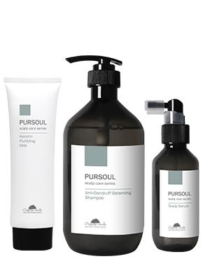 Pursoul純淨頭皮養護系列