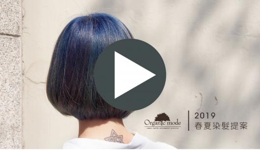 2019春夏染髮提案 v.s. 賴希曦